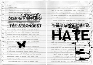 The Strongest Thing About Me is Hate